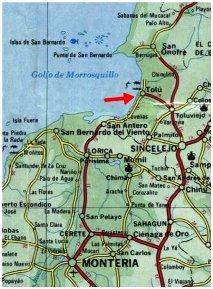 Puerto Balsillas apartment rent tolu coveas sucre colombia