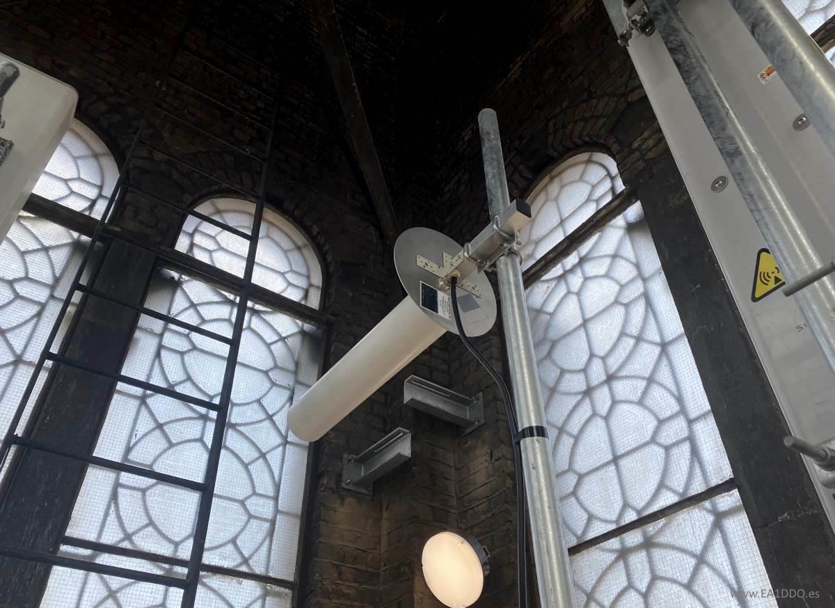 Antena en Westminster