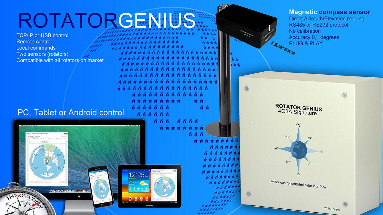 4O3A Rotator Genius