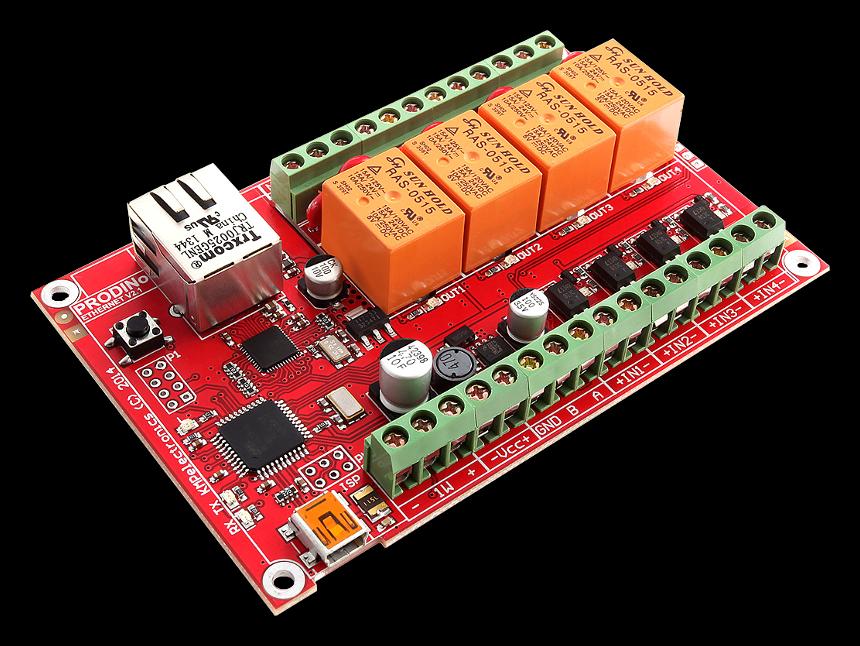 ProDino NetBoard de KMP Electronics